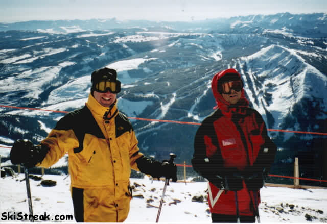 Top of Big Sky overlooking Yellowstone Pioneer Club
