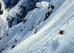 Skier's view from Mt. Superior to Snowbird